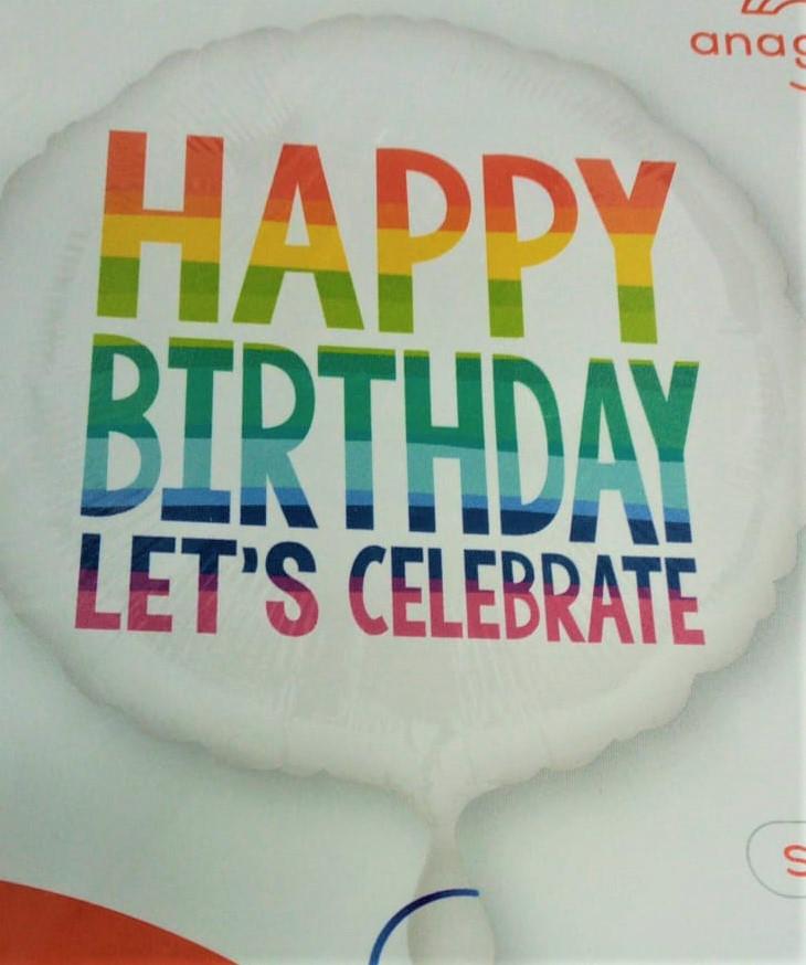 בלון יום הולדת אנגלית 3